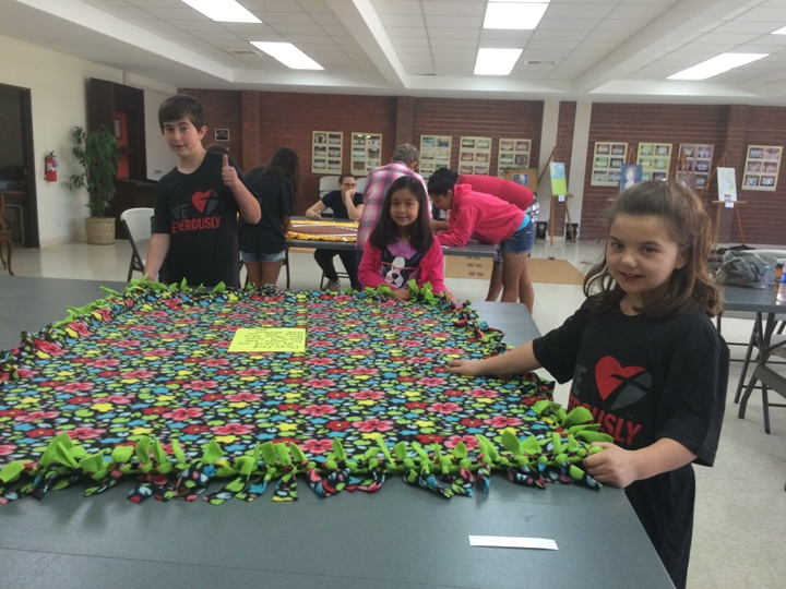 Blanket Making for Community Center