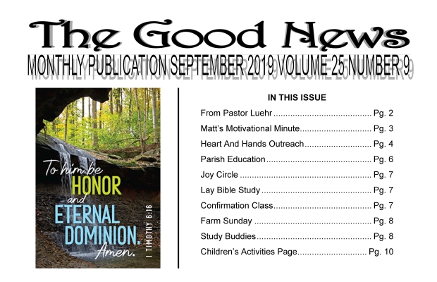 The Good News: September 2019