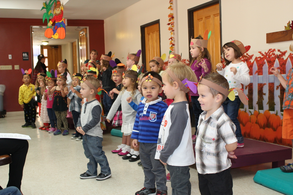Emanuel Lutheran Preschool Students Performing a Play