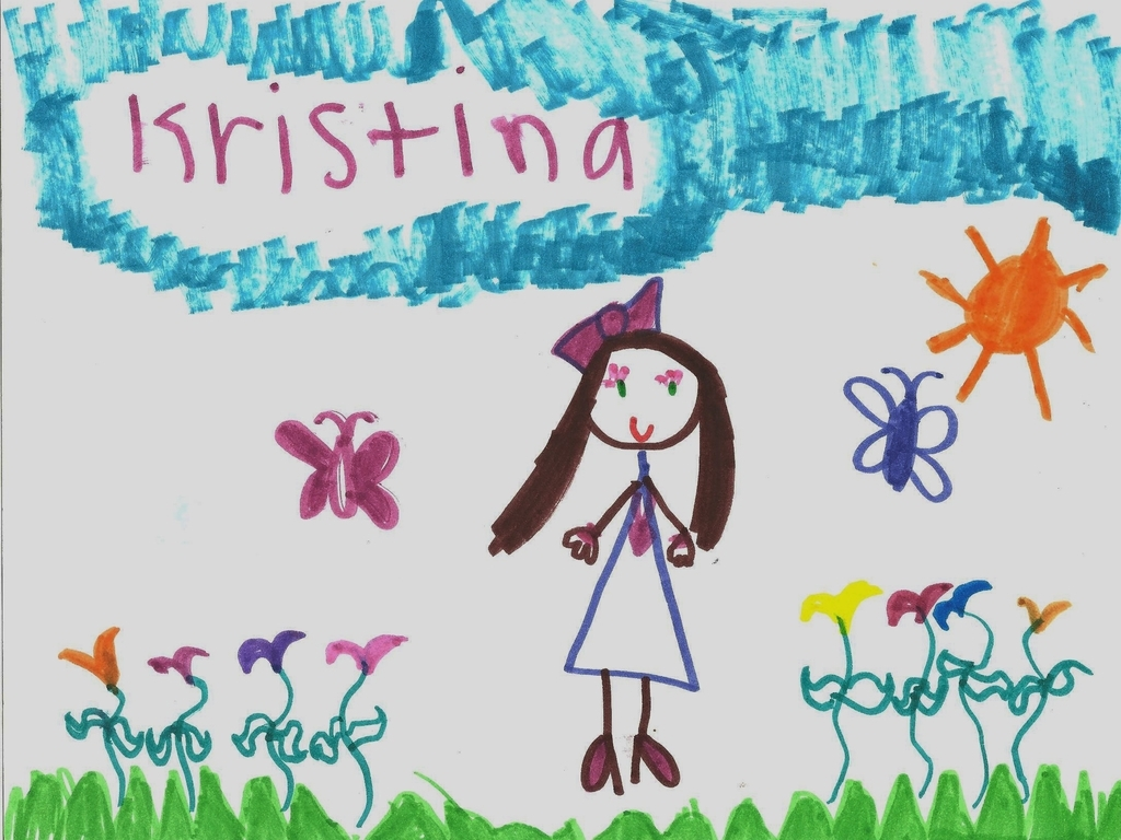 Artwork from an Emanuel Lutheran Preschool Student